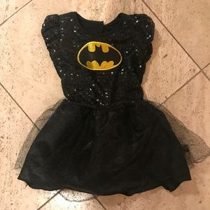 Dc Comics Costumes Little Girl Sparkly Batgirl Costume Poshmark